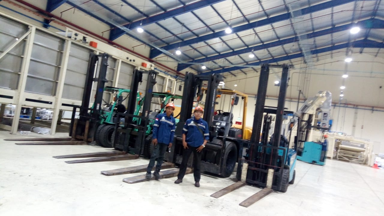 Jasa Sewa Forklift